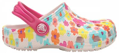 CROCS CLASSIC SEASONAL GRAPHIC CLOG KIDS 205620