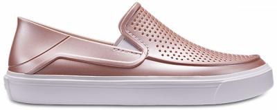 Womens CitiLane Roka Metallic Slip-On