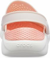 CROCS LiteRide™ Clog Barely Pink / White