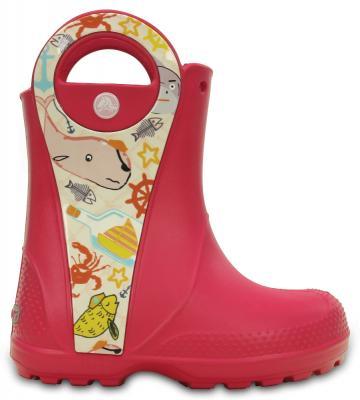 Kids Handle It Sea Life Rain Boot