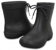 W Freesail Shorty Rain Boot Black