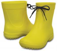 W Freesail Shorty Rain Boot Lemon