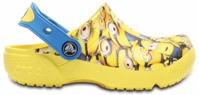 Kids Crocs Fun Lab Minions Graphic Clog